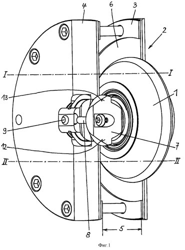 Съемный рабочий ролик накатного инструмента, расположенный в корпусе