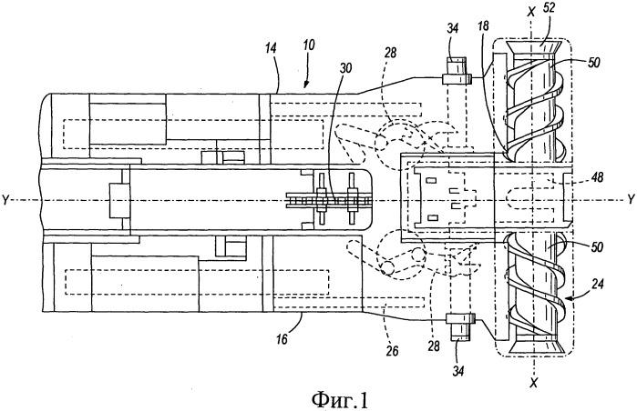 Режущее устройство врубовой машины