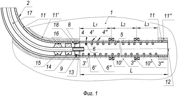 Способ установки скважинного фильтра в паронагнетательной горизонтальной скважине