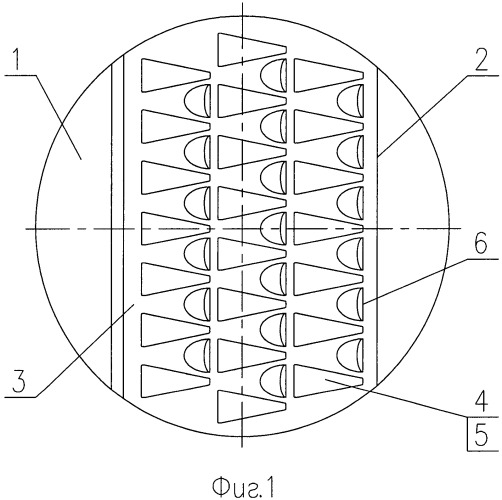 Чешуйчато-клапанная тарелка