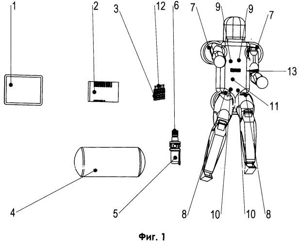 Спортивный робот - тренажер с программным управлением на пневматических приводах