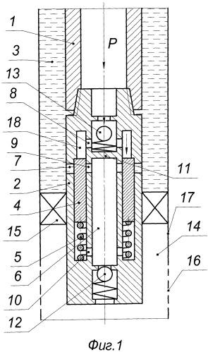 Устройство для гидроимпульсного воздействия на призабойную зону пласта