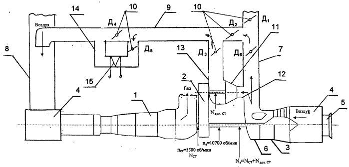Способ испытания компрессора и установка для испытания