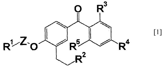 Применение бензофенонового производного или его соли и ингибитора tnf-α в комбинации, и фармацевтическая композиция, содержащая данное производное или его соль и ингибитор