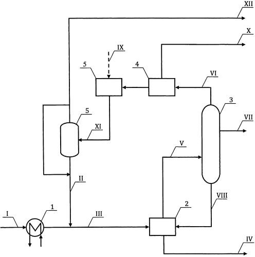 Способ подготовки тяжелого углеводородного сырья к термической конверсии