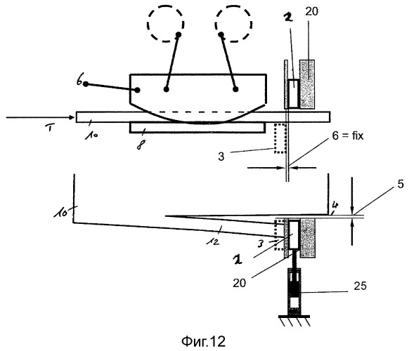 Способ и устройство для обрезки кромки толстых металлических листов