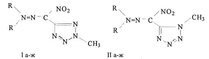Способ получения гидразонов нитро-тетразол-5-карбальдегида
