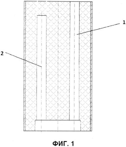 Шашка-детонатор для промышленного взрывания