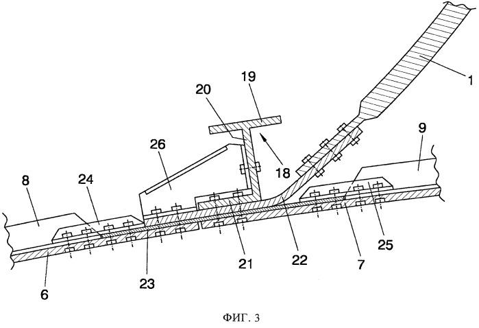 Конструкция узла герметической перегородки летательного аппарата