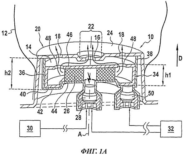 Генератор газа для подушки безопасности автотранспортного средства