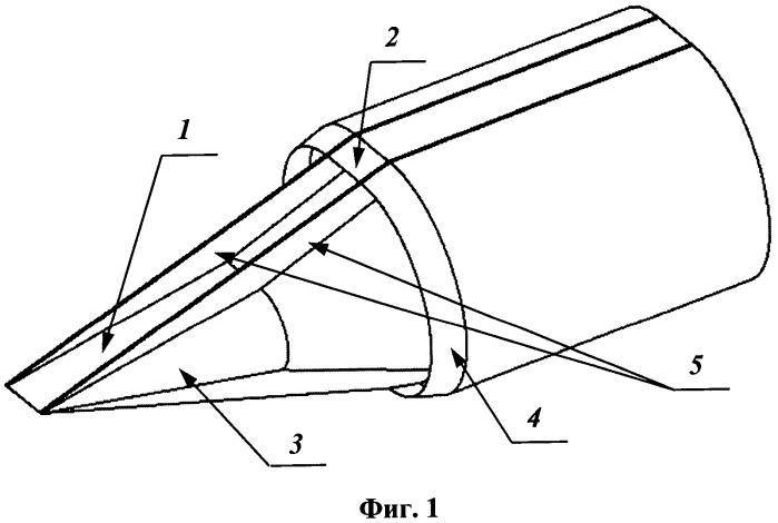 Воздухозаборное устройство силовой установки гиперзвукового летательного аппарата