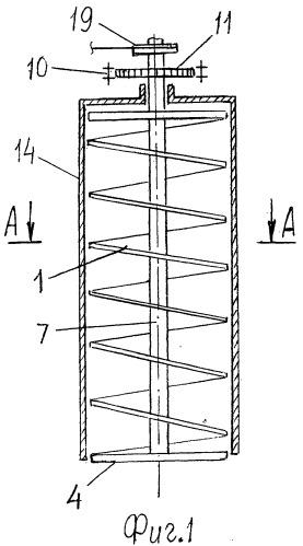Шнековая установка для добычи торфа