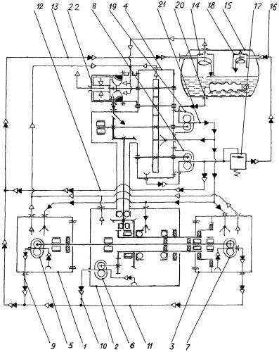 Маслосистема авиационного газотурбинного двигателя