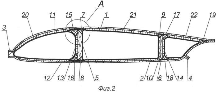 Способ изготовления полых конструкций с внутренними стенками