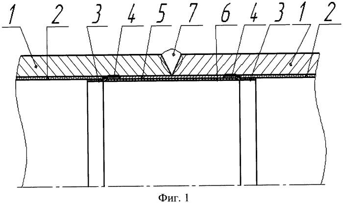 Способ защиты от коррозии сварного соединения труб с внутренним покрытием при строительстве трубопровода