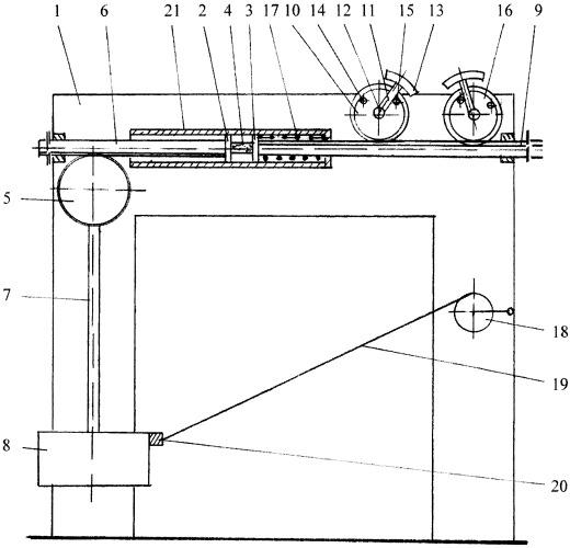 Установка для физико-механических испытаний образцов материалов