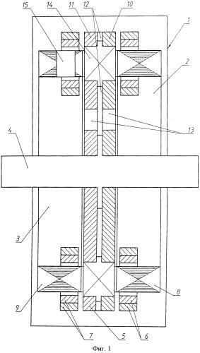 Торцевая асинхронная электрическая машина