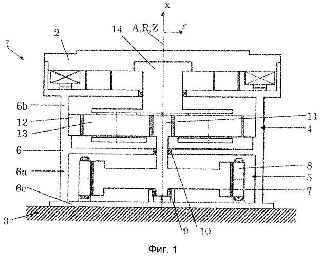 Система привода тяжеловесных грузов и приводимая от неё в действие мельница