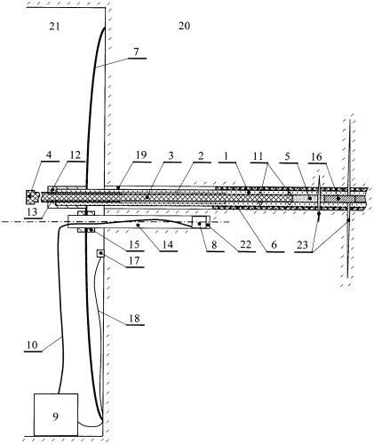 Стенд для исследования электромагнитного излучения твердого тела, например блока горной породы в породном массиве