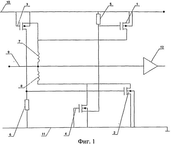 Устройство защиты выводов микросхемы от электростатических разрядов