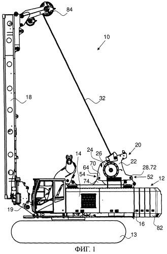 Рабочая строительная машина