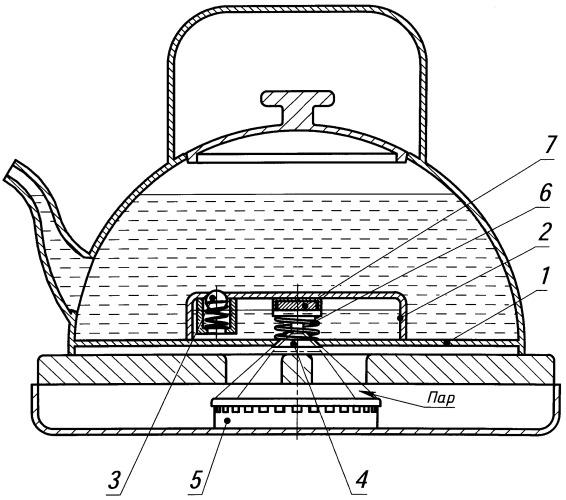 Чайник для плиты с газ-контролем
