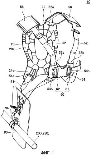 Привязные ремни для переносного приводного инструмента