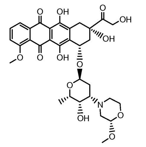 Конъюгаты производного антрациклина, способы их получения и их применение в качестве противоопухолевых соединений