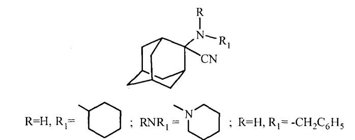Способ получения производных 2-амино-2-цианоадамантана
