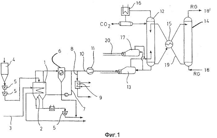 Способ работы паротурбинной установки, а также устройство для получения пара из бурого угля