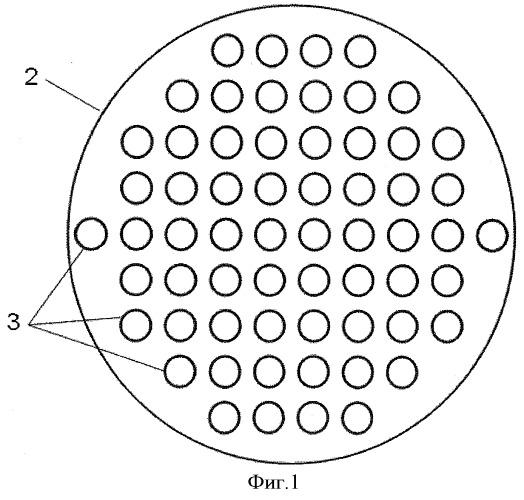 Устройство для равномерного разделения потоков текучей среды в химических аппаратах на два или несколько отдельных потоков