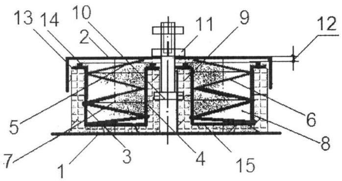 Тарельчатый виброизолятор для технологического оборудования