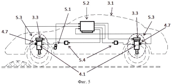 Исполнительное устройство системы стабилизации кузова транспортного средства
