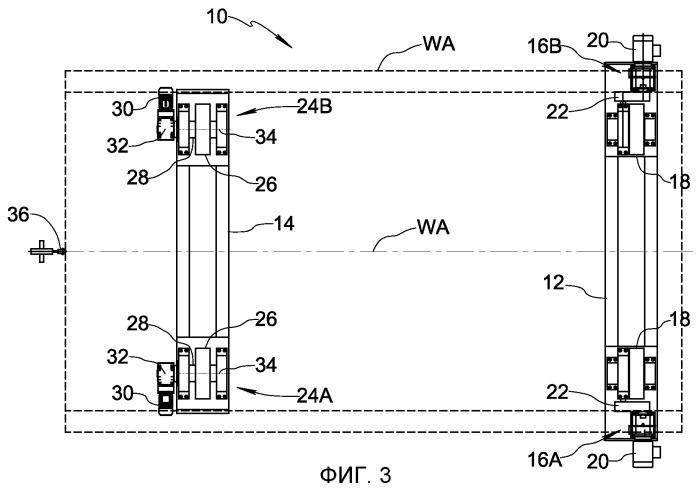 Система поворотных роликов (варианты) и способ предотвращения осевого смещения посредством системы поворотных роликов