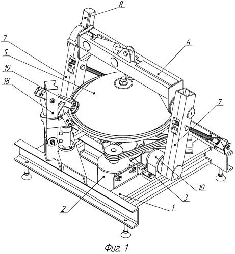 Устройство для раскатки и отбортовки полых изделий