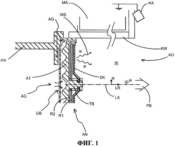 Система электростатического ионного ускорителя