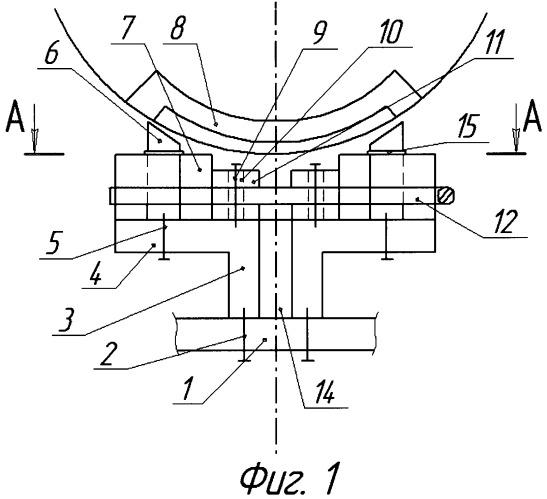 Статор сегментного ветроэлектрогенератора