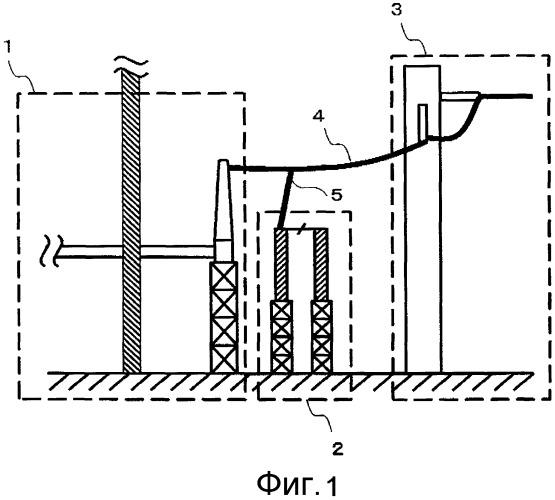 Разрядник для защиты от перенапряжений и электрическое устройство с газовой изоляцией