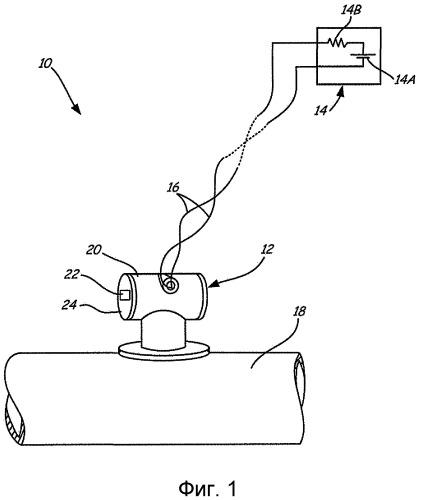 Передатчик технологического параметра с дисплеем