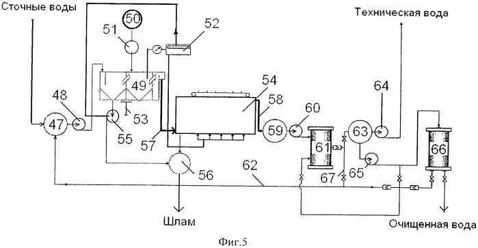 Система оборотного водоснабжения для мойки автомашин