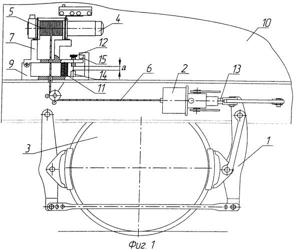 Стояночный тормоз локомотива (варианты)