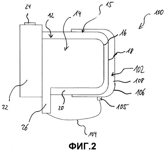Теплообменник для мобильного отопительного устройства автомобиля