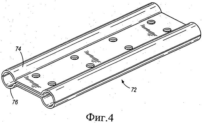 Сменный звукопоглощающий скребок цепного конвейера