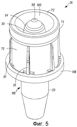 Клапан для дозирующей машины и способ