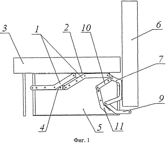 Устройство трансформации мягкой мебели