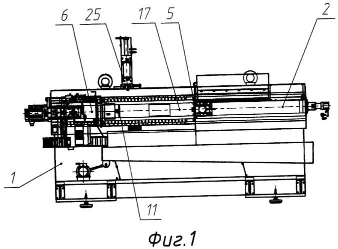 Токарный станок для обработки труб и способ обработки труб на токарном станке