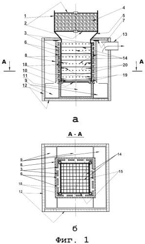 Способ быстрого пиролиза биомассы и углеводородсодержащих продуктов и устройство для его осуществления