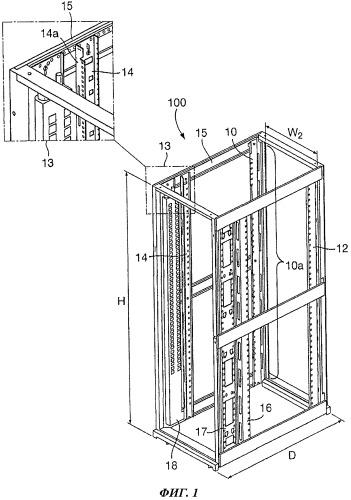 Холодильный агрегат, встраиваемый в стойку