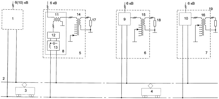 Способ перетоков электрической энергии в тяговой сети постоянного тока городского электрифицированного транспорта через коммунальную сеть переменного тока