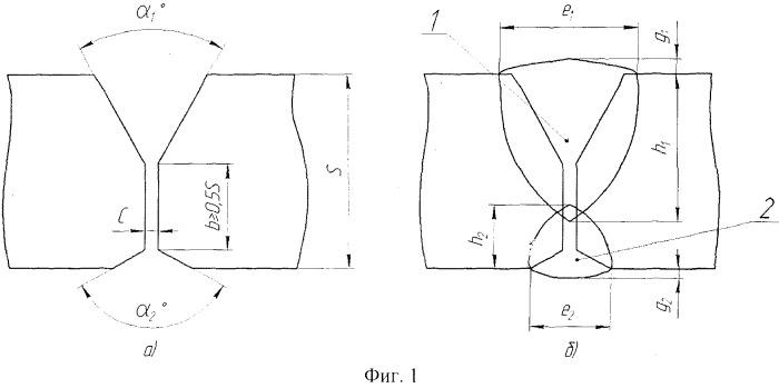 Способ подготовки кромок деталей под дуговую сварку стыкового соединения